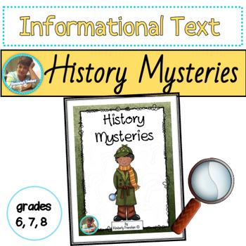 Histories Mysteries: Non-Fiction Passages & Printables