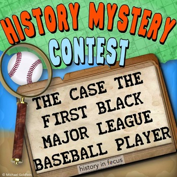 History Mystery - Jackie Robinson