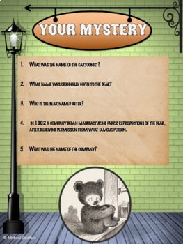 History Mystery - Teddy Bear