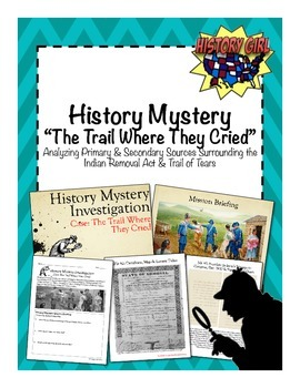 History Mystery: The Trail Where They Cried