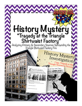 History Mystery: Tragedy at the Triangle Shirtwaist Factory