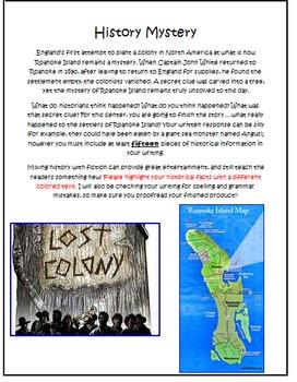 History Mystery--What Happened On Roanoke Island?