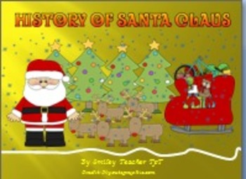 History Of Santa Claus  Power Point Presentation