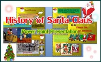 History Of Santa Claus  Power Point Presentation