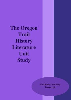 The Oregon Trail History Literature Unit Study
