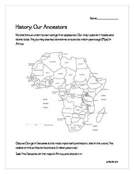History: Our Ancestors