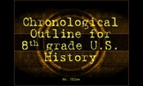 History Outline for 8th Grade U.S. History Teachers