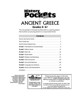 History Pockets, Ancient Greece