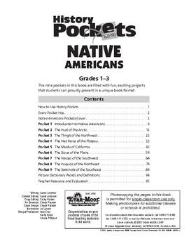 History Pockets, Native Americans