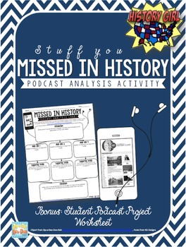 History Podcast Analysis Assignment & Student Podcast Proj