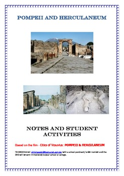 History: Pompeii and Herculaneum