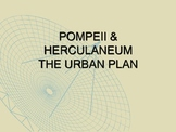 History: Pompeii and Herculaneum - The Urban Plan