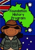 History Program: Pre-Primary