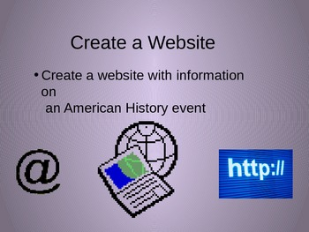 History Project Suggestions Power Point