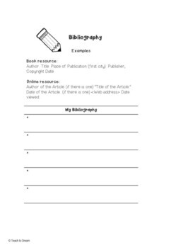 History Project Year 6 Australian Curriculum