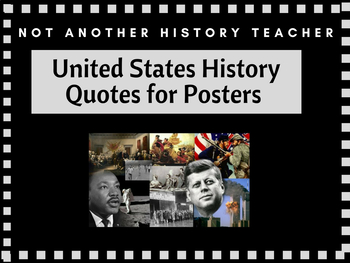 History Quotes Posters