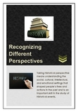 History: Recognizing Different Perspectives