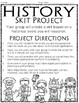 History Research Project: Write & Perform a Skit! Perfect for ALL History Units