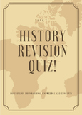 History Revision Quiz - fundamental terminology and concepts