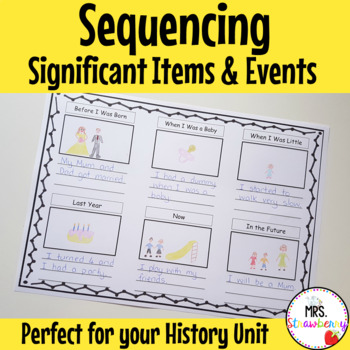History Sequencing Significant Items and Events