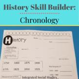 History Skill Builder: Chronology