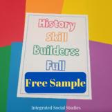 History Skill Builders: Free Sample
