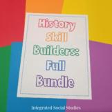 History Skill Builders: Full Bundle