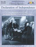 History Speaks...Declaration of Independence
