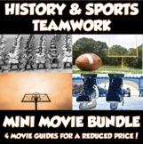 History & Sports Bundle *4 Movie Guides for a Reduced Price!*