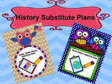 History Substitute Plan Bundle {United States and World History}