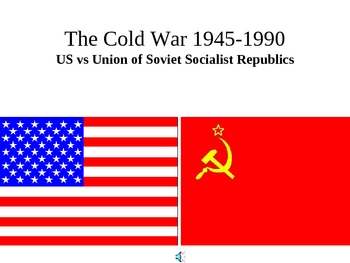 History - The Cold War 1945-1990 PowerPoint