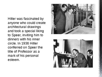 History: The Personal Background and Historical Context of Albert Speer