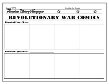 History Themed Newspaper Comic Strips