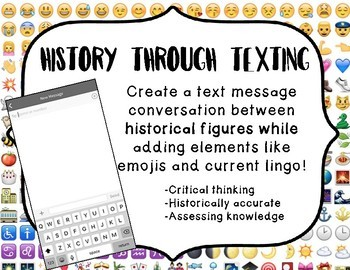 History Through Texting  Review Historical Figures 