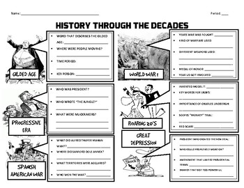 History Through the Decades