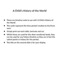 History Timeline Cards Creation - Macedonia