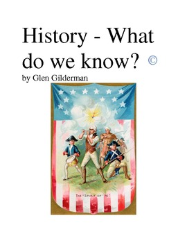 History Timeline - What do we know?