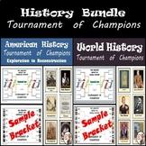 History Tournament of Champions Bundle - World History & American History