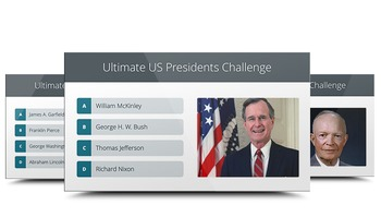 HISTORY: Ultimate US Presidents Challenge - PowerPoint Trivia Game