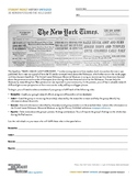 History Unfolded: US Newspapers and the Holocaust (Student