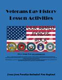 Veterans Day History Gr. 9-12