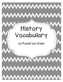 History Vocabulary