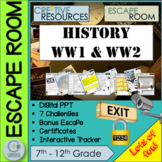 History WWI and WWII Escape Room