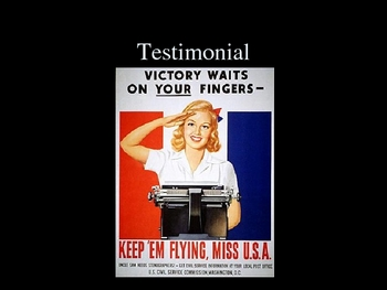 History - War-time Propaganda PowerPoint