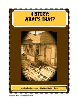 History - What's That? Beginning the Year in History