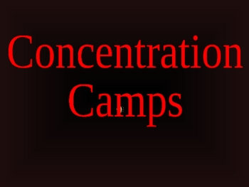 History - World War 2 (WWII) Concentration Camps PowerPoint