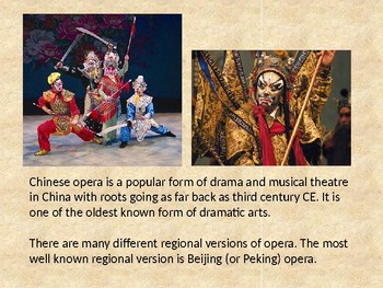 History and Art of Chinese Opera Masks