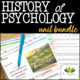 History and Basics of Psychology *UNIT BUNDLE*