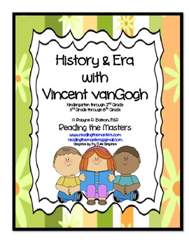 History and Era with Vincent vanGogh