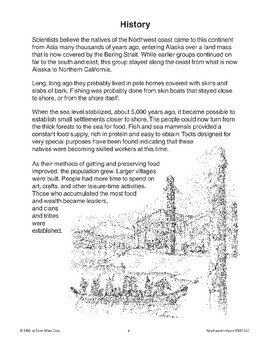 History and Geography of the Northwest Indians